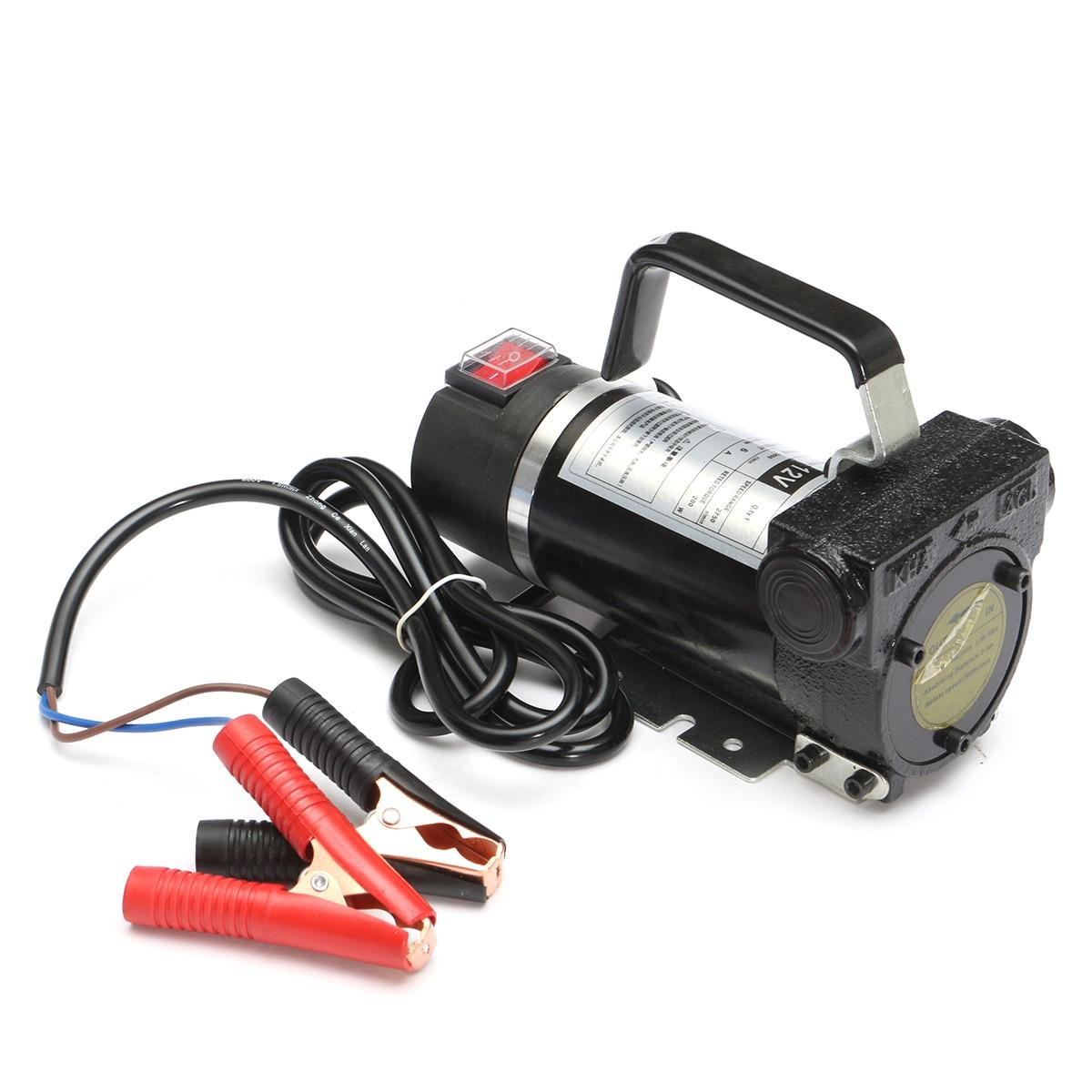 12 v 200 W Voiture Moto Portable Électrique Mazout Extractor Pompe De Transfert 45L/Min