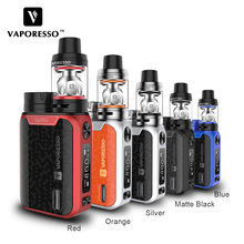 Original Vaporesso SWAG Kit 80W SWAG Box Mod with NRG SE Tank 3.5ml Tank No 18650 Battery E-Cigarettes Vape Kit use GT Coil цена