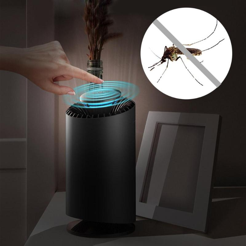 Indoor Smart Mosquito Killer Lamp Photocatalyst Mosquito Killer Lamp Bug Insect Mosquito Repellent Catcher With US Plug Adapter ledgle 3w mosquito repellent lamp effective physical insect killer mosquito trap and killer black