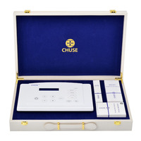 CHUSE C5T Digital Permanent Makeup Tatttoo Machine Kit for Eyebrow Lip Eyeliner Body Rotary Tottooing Machine with Swiss Motor