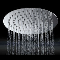 Wholesale Promotions High Quality Bathroom Faucet Accessories Ultra Thin Stainless Steel Rainfall Shower Head For Rain Shower