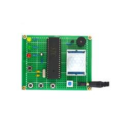 Burglar alarm design kit Infrared human body induction electronics DIY production kit