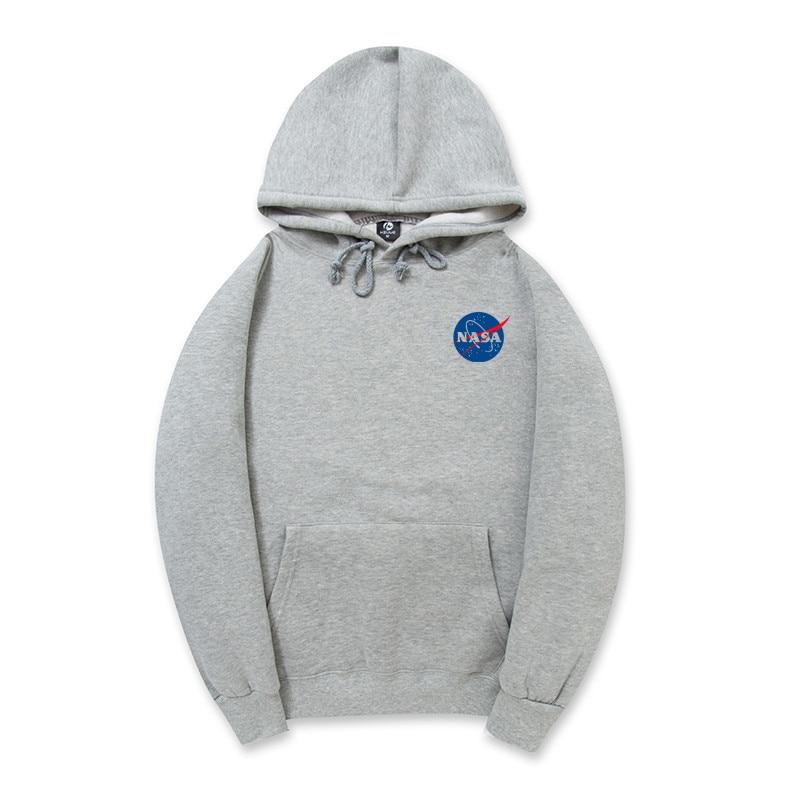 e8262de3085 2017 New NASA Pink Khaki Men Hoodies Plus Size XXL Black White Gray Autumn  Cotton Fleece Men Sweatshirts XXL Men s Sportswear on Aliexpress.com