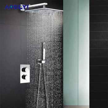 AODEYI Shower Head 304 Stainless Steel Square 8