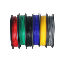 Envío libre muchos colores 3D Filamento Impresora PLA material de 1.75mm 1 KG Rubber Consumibles Material de Plástico para la impresora(China (Mainland))