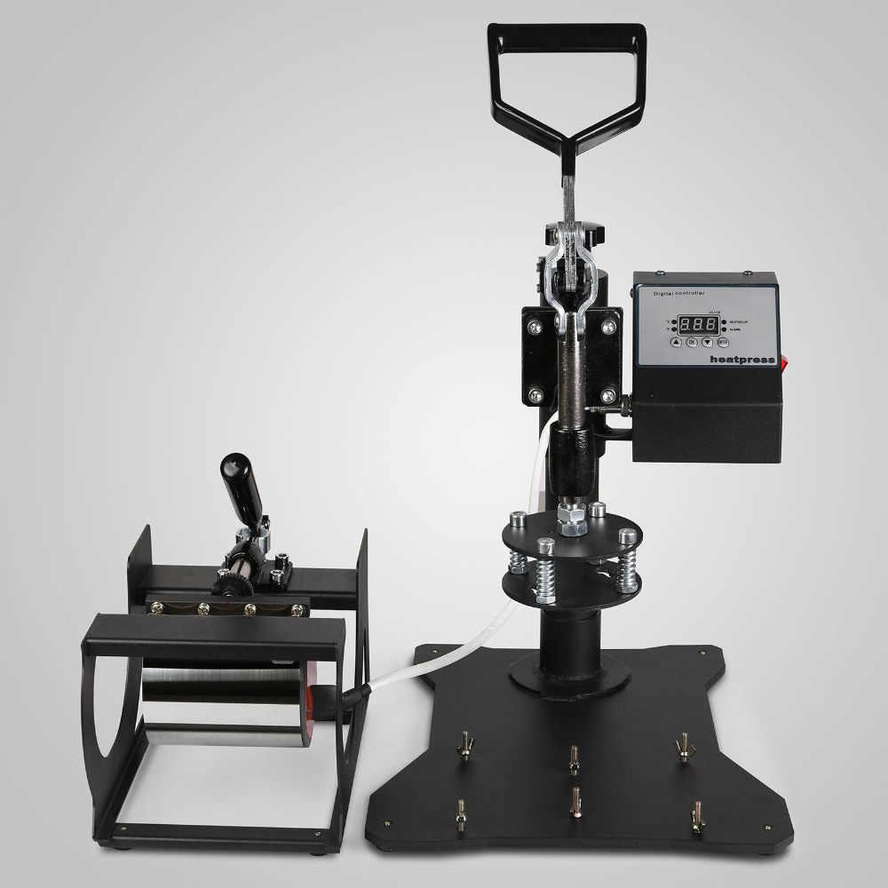VEVOR завод 6 в 1 цифровой термопресс 12x15 дюймов Многофункциональный трансферная