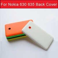 Echte Hintere abdeckung fall für nokia 630 635 zurück batterie tür gehäuse für Microsoft lumia nokia 635 630 zurück abdeckung ohne logo