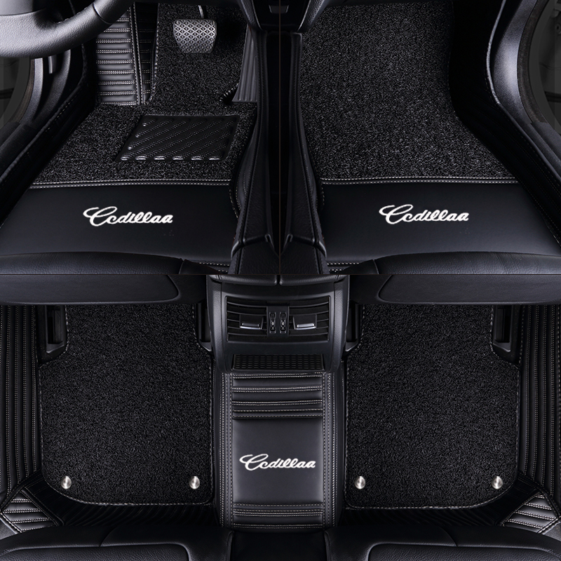 TENGRUI Custom Car Floor Mats High-end Chinese Embroid for LAND ROVER RANGE ROVER SPORT VELAR EVOAUE DISCOVERY series Floor Mat