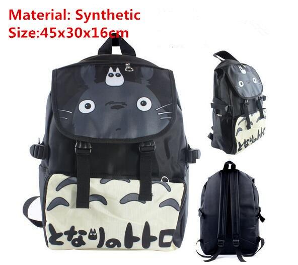 Anime My Neighbor Totoro Travelling Backpack Shoulder Back to School Bag Gift anime tokyo ghoul ken kaneki travelling backpack school student shoulder bag gift back to school