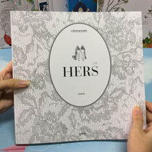 96 Pages Hers Girlhood Same album Coloring Books For adults  Children Secret Garden Kill Time Painting Books