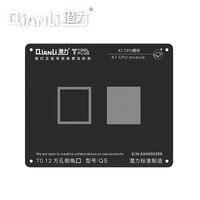 QIANLI квадратное отверстие посадки Оловянная черная стальная сетка Япония импортная стальная сетка яблоко A7-A11 модуль завод Оловянная Сеть и...