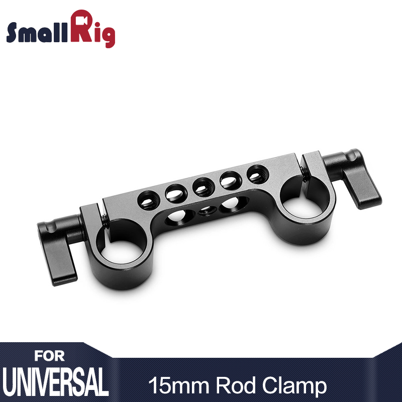 "SmallRig Super Light weight 15mm Railblock dengan 1/4 ""-20 Standard Thread untuk Kamera Sangkar 15mm Dslr Camera Rig - 942"
