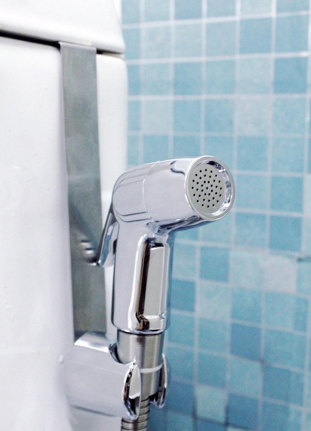 ABS Bidet Toilet Shattaf Sprayer Kit with 7/8\