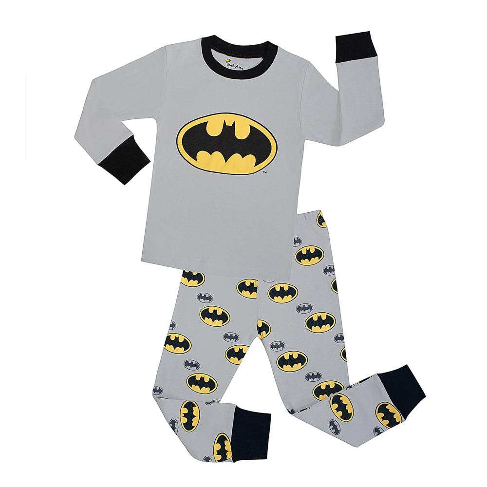 2e3504edebb67 22 Design Enfants Batman Vêtements De Nuit Enfants Noël Pyjamas Garçons  Filles Animal Pyjama Ensembles Bébé J`aime Maman Papa ...