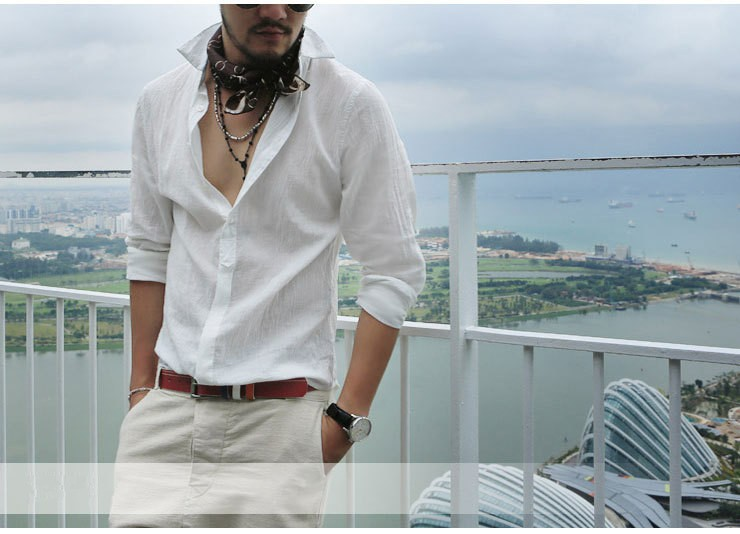 HTB1ce.aIFXXXXawapXXq6xXFXXX1 - Shirts Swag Cotton Linen Men Shirt Long Sleeve Summer Style