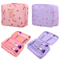 Rushed Floral Nylon Zipper New Women Makeup bag Cosmetic bag Case Make Up Organizer Toiletry Storage Travel Wash Pouch