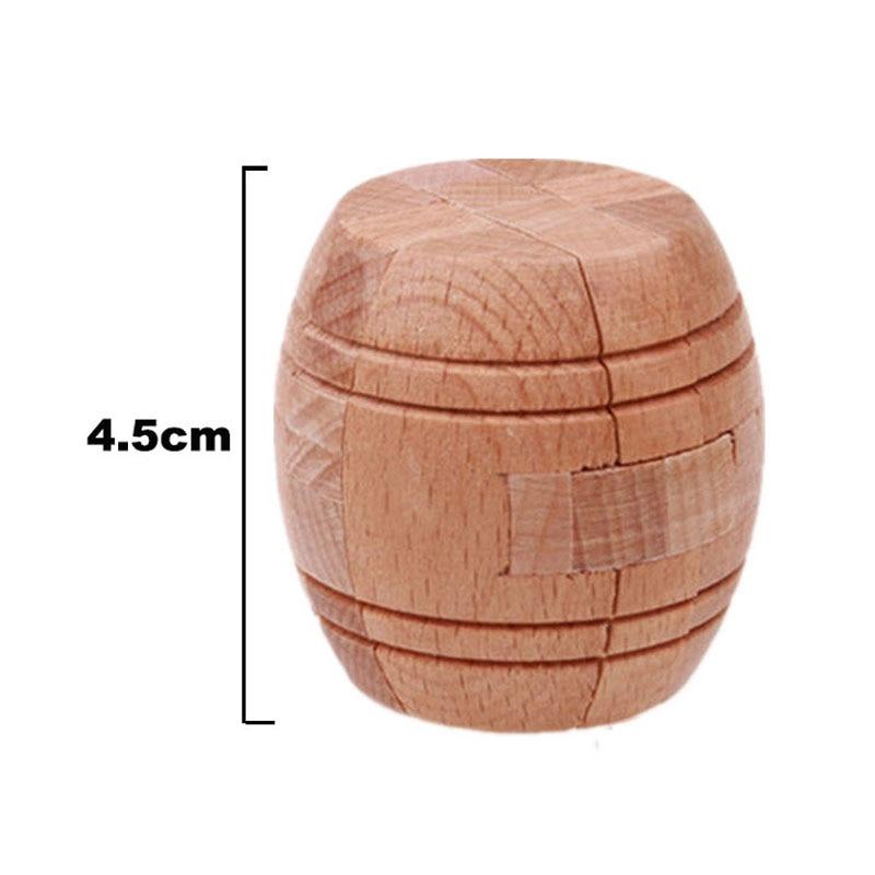 3D Wooden Puzzle Luban Låser Puslespill Spill Leker For Barn Voksne - Puslespill - Bilde 6