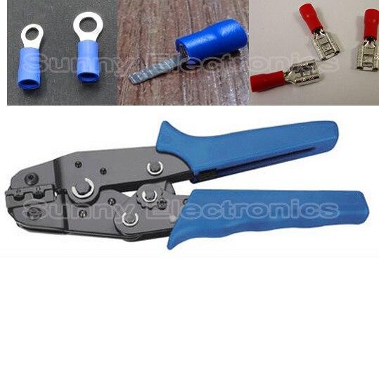 Gastfreundlich Kabelschuhe Crimpzange 0,5-2,5 Mm² Für Splice Crimp Stecker Spade Terminals Ring Terminal Zange Handwerkzeuge