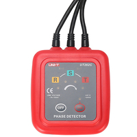 UNI T UT262C принимает Тип зажима Бесконтактный фазовые детекторы чередования фаз Напряжение обнаружения