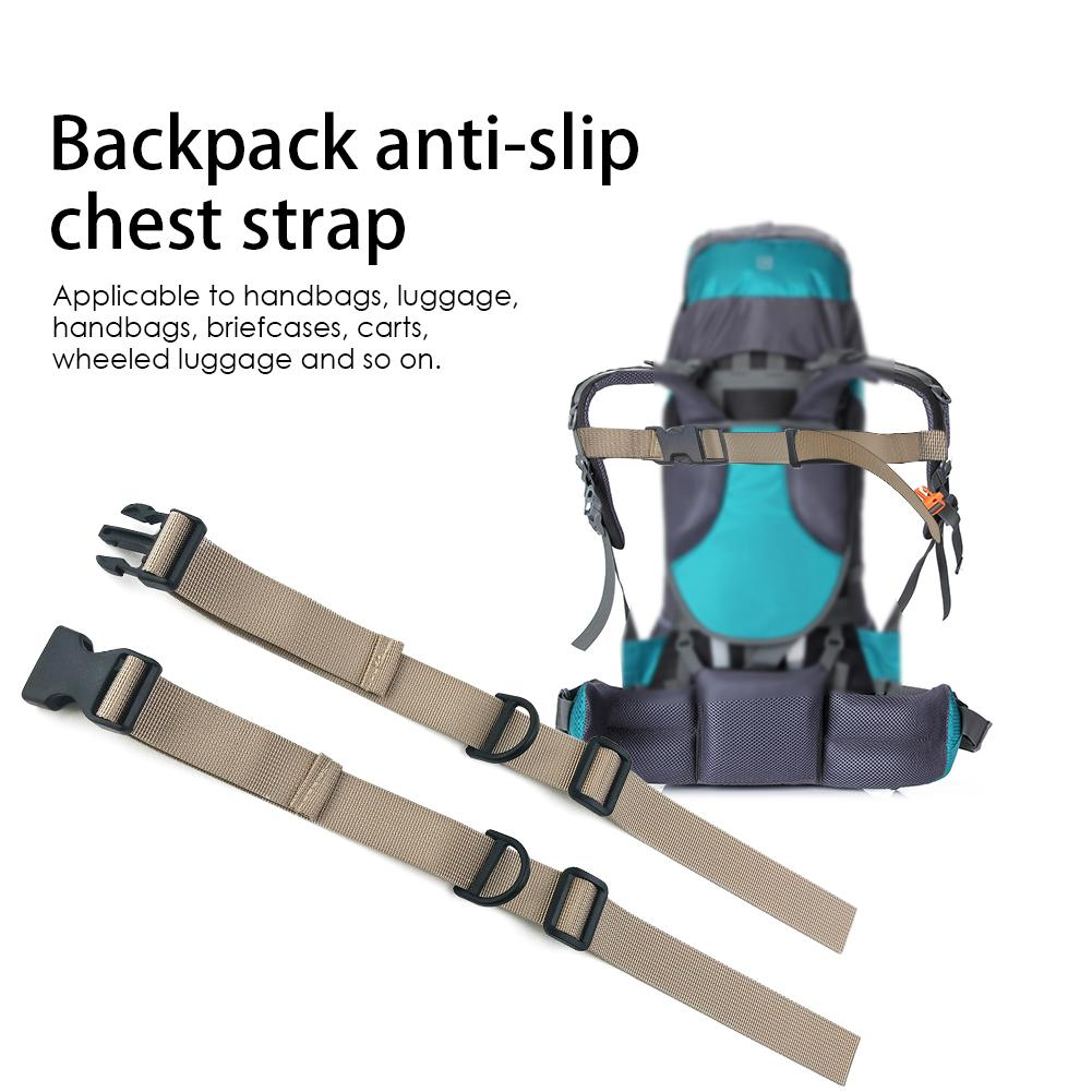 Outdoor Camping Tactical Backpack Chest Strap Heavy Duty Adjustable Backpack Sternum Strap Chest Belt for Hiking and Jogging ремень
