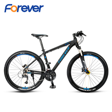 FOREVER Mountain Bikes 27 speed Double Hydraulic Disc Brake Lightweight Bike Al Alloy Frame Cycle Suspension Fork MTB 27 5 in cheap Aluminum Alloy Unisex 0 1 m3 Spring Fork (Low Gear Non-damping) Double Disc Brake Full Shockingproof Frame Other Pedals