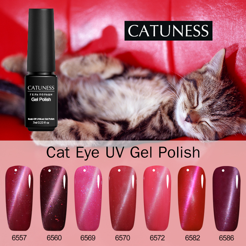 Catuness Magnet Stick Magic Effect Gel Varnish Popular 3d Cat Eyes Acrylic Glue Soak-off Uv Led All For Manicure And Nail Design Special Buy Nail Gel