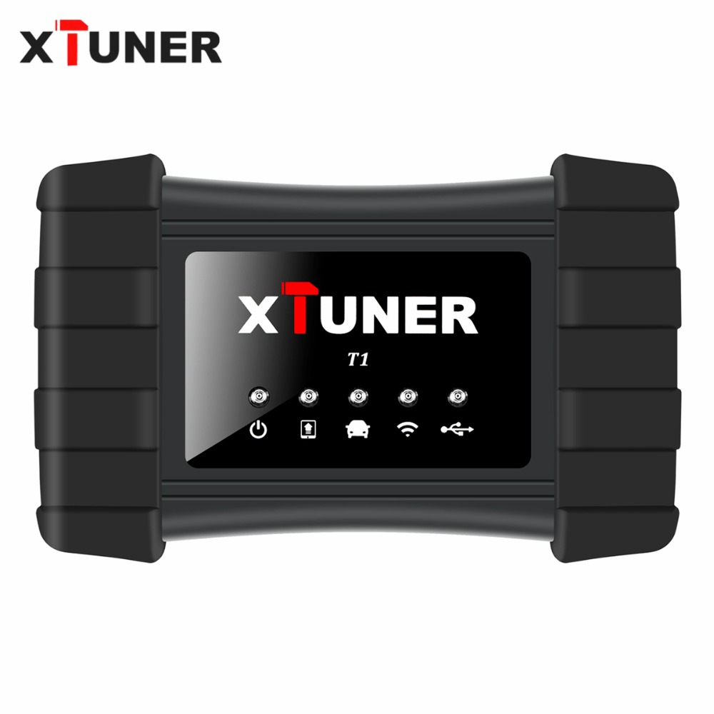 Newest V9 3 XTUNER T1 HD Heavy Duty Trucks Auto Diagnostic Tool With Truck Airbag ABS