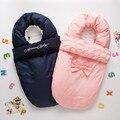 2016 invierno espesar bolsa de dormir del algodón del sobre del saco de dormir del bebé para cochecito bebés sleepsacks bolsa infantil menina