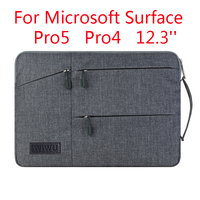 Laptop Sleeve Bag For Microsoft Surface Pro 6 5/4 Fashion Tablet PC Case Waterproof Hand Holder Design Pouch Gift