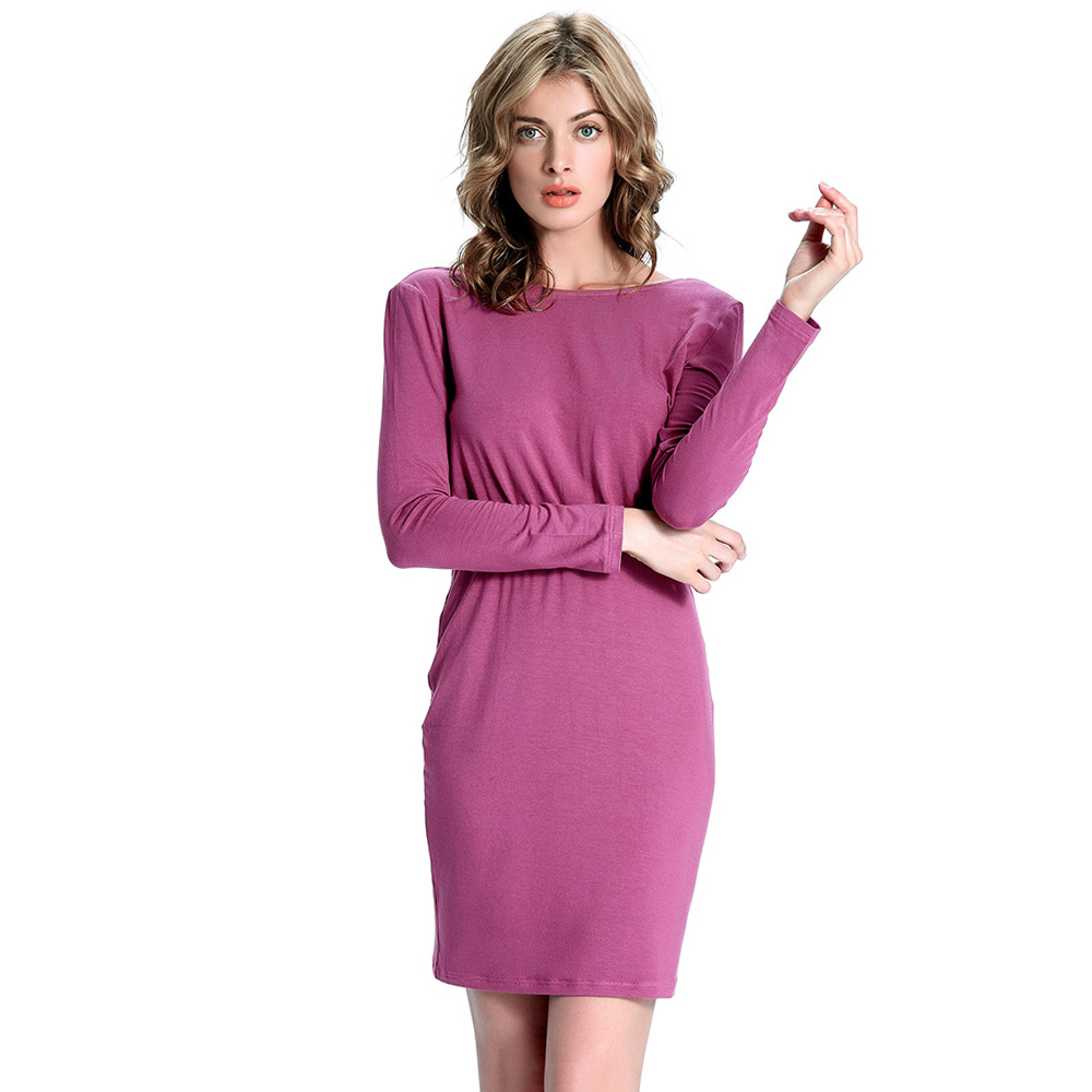 Compare Prices on Purple Casual Dresses- Online Shopping/Buy Low ...