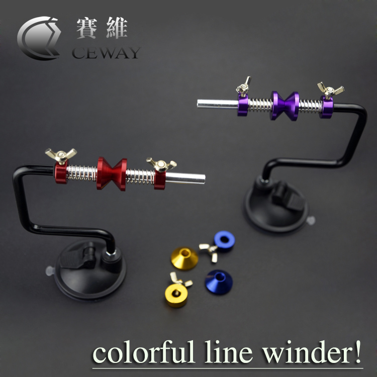 Metal Portable Fishing Line Winder Alloy Wrapper Fish Reel Spool Spooler Aluminum Fishing Terminal Tackle Accessory Fish Tools