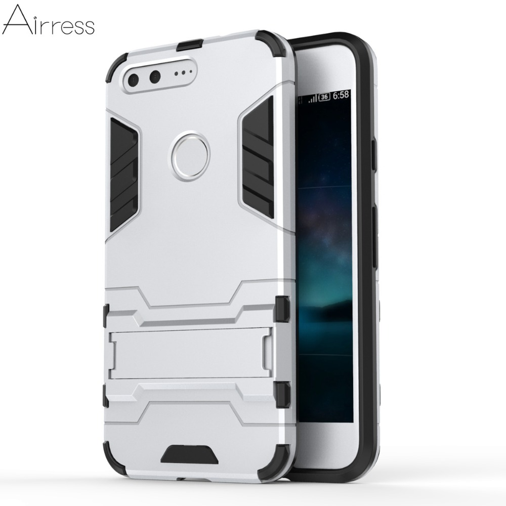 Airress TPU/PC 2in1 Armor Rugged Military Grade Phone Case Cover for Google Pixel (5.0)Google Pixel XL(5.5)