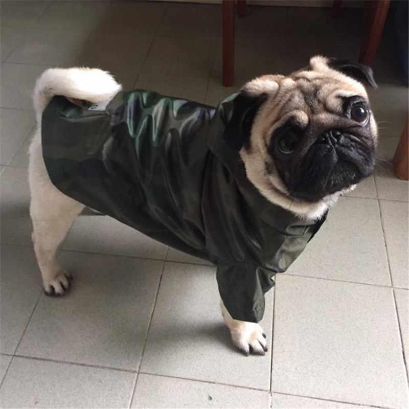 HJKL плащ для собак Одежда для больших собак Французский бульдог Лабрадор водонепроницаемая куртка-дождевик плащ-костюм Одежда для домашних животных