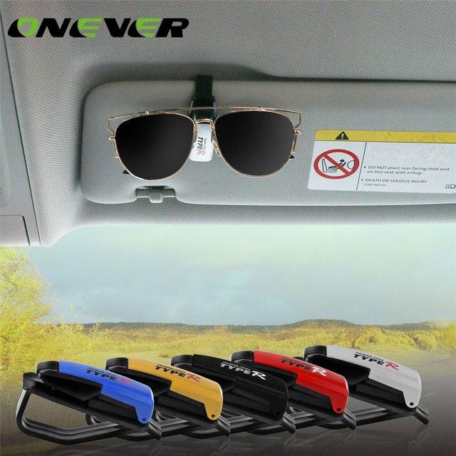 c37b4e3911f076 Onever Universele Auto Fastener Clips Zonneklep Bril Zonnebril Ticket Kaart  Pen Organizer Clip Houder Brillen Case