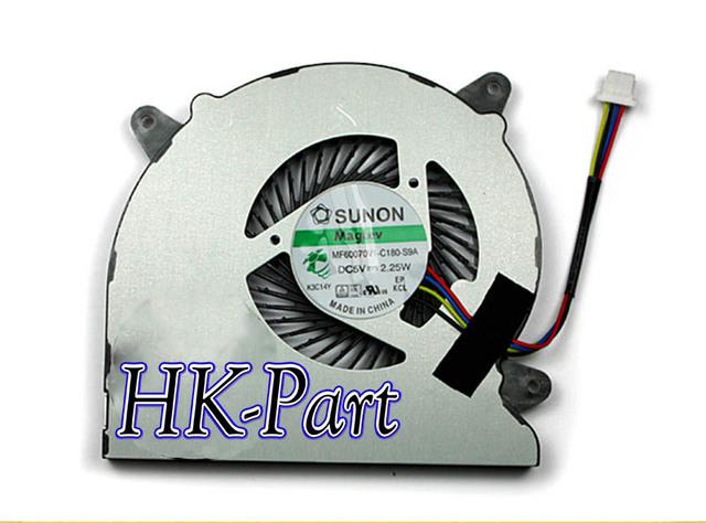 New & original para asus n550 n550j mf60070v1-c180-s9a cpu fan, frete grátis!!