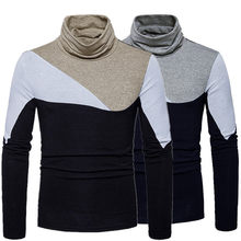 New Casual Turtleneck Sweater Men's Knitted Pullovers 2018 Autumn Fashion Sweater Slim Fit Knitwear Long Sleeve Cotton Clothes brand casual turtleneck sweater men pullovers autumn knitwear