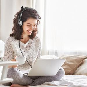 Image 2 - Logitech H110/H111 casque stéréo avec Microphone 3.5mm casque filaire casques découte pour gamer gaming musique appelant