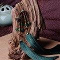 2016 New arrivals mulheres brinco ágata borla liga de cobre venda quente bonita do vintage acessórios jóias menina brincos D129