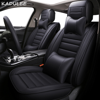 KADULEE pu leather Car Seat Cover for ssangyong ssang yong actyon actyon korando kyron rexton auto accessories car-styling