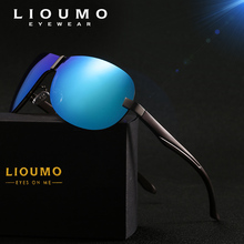 2019 Aluminum Magnesium Oversize Rimless Sunglasses Men HD Polarized Male Sun Glasses Goggle Women Driving Eyewear Mirror UV400 aluminum magnesium polarized sunglasses men sports sun glasses night driving mirror male eyewear accessories goggle oculos