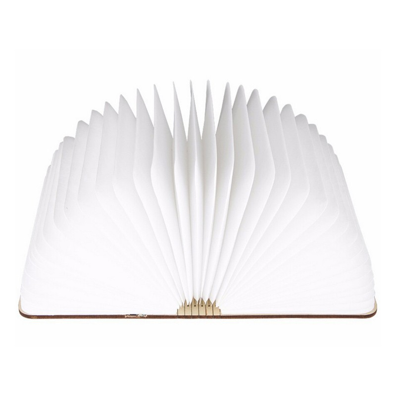 Fashion 4.5W Wooden Folding LED Nightlight Booklight LED Folding usb book light,Art reading lamp rechargeable light book  (4)