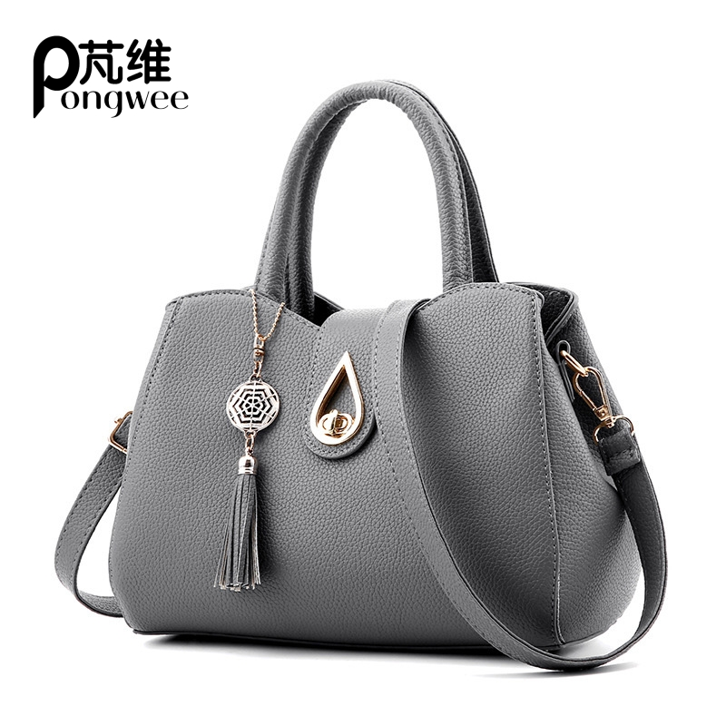 PONGWEE New Arrive Women All-match Bag Fashion Nubuck Handbag High Quality Medium Shoulder Bag Frosting Women Messenger Bag  new arrive women leather bag fashion zipper handbag high quality medium solid shoulder bag summer women messenger bag