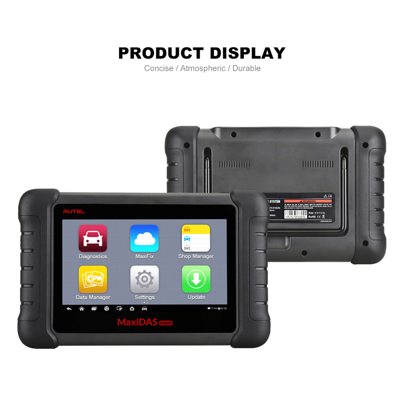 Image 2 - Autel MaxiDAS DS808 Diagnostic Tool DS708 DS808 Full System Car Diagnostic and ECU coding Tool with full OBD OBD2 adapters-in Engine Analyzer from Automobiles & Motorcycles