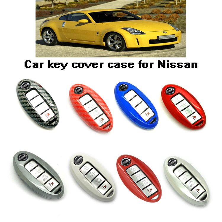 smart Remote Fob Key Case Cover 3 4 5 Buttons Replacement For Nissan