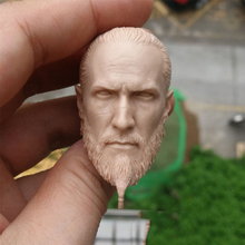 1/6 Scale New Style Viking Unpainted Head for 12Action Figures Bodies