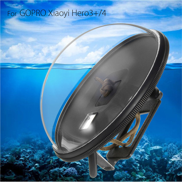 Top Quality Dome Port Diving Underwater Lens Camera Waterproof Cover Case For GoPro Hero 4
