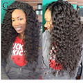 8A Glueless Full Lace Human Hair Wigs Water Wave Virgin Hair Lace Front Wig Deep Curl Full Lace Human Hair Wigs For Black Women