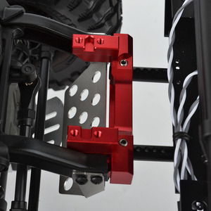 Image 4 - 1/10 RC Alloy Front Servo Stand Rear Bumper Mount For 1:10 RC Crawler Traxxas Trx4 TRX 4 Upgrade Parts