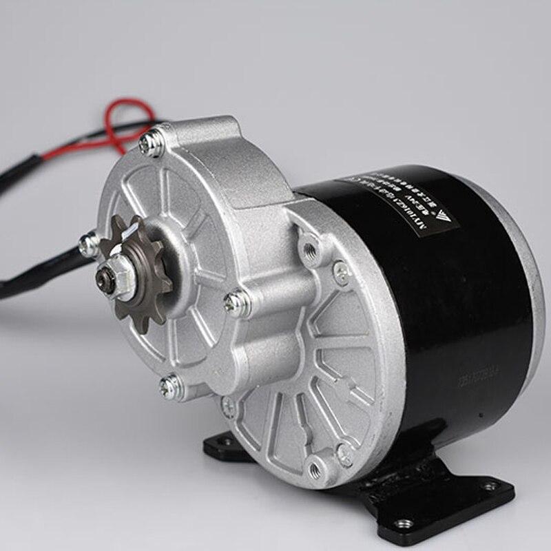 UNITEMOTOR MY1016Z3 DC moteur 24 V 36 V 350 W vélo électrique engrenage moteur brossé réduire la vitesse moteur e-scooter pour 20-28