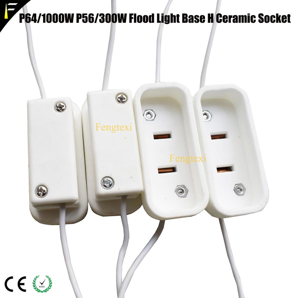 4pcs/lot PAR64 1000W500W PAR56 300W500W GX16D H Ceramic Socket Holder For Stage Flood Par Can Light Parts